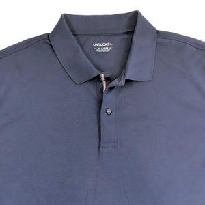 UNTUCKit Men's Navy Blue Polo Size XXL